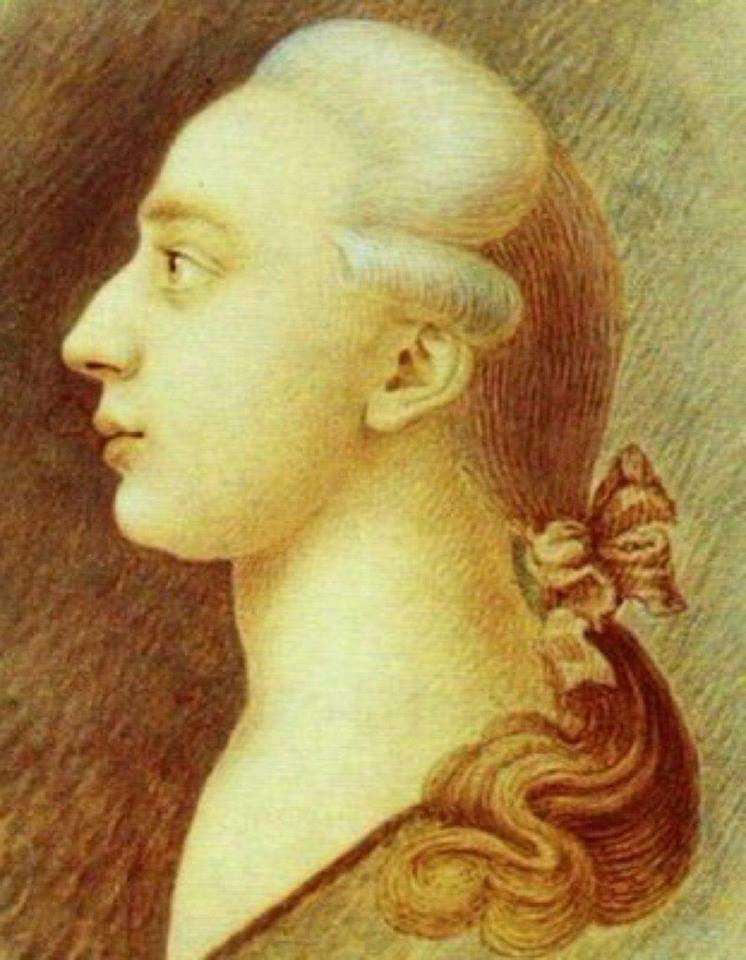 2 апреля 1725 года родился Джакомо Джироламо Казанова