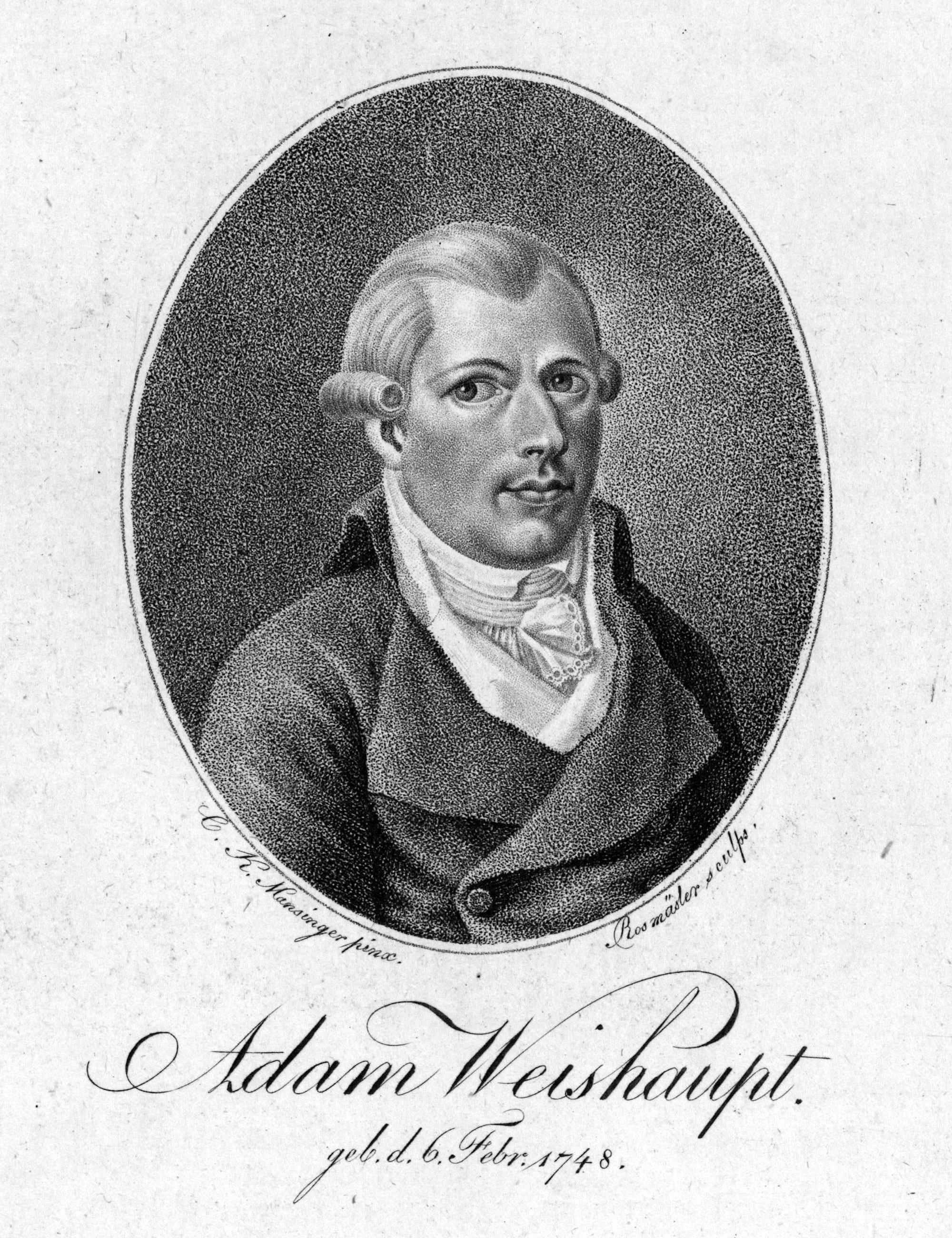 1 мая 1776 года Адам Вейсгаупт основал Орден баварских иллюминатов