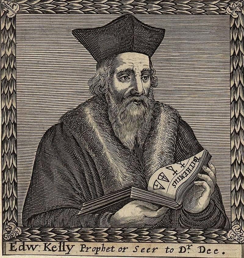 1 августа 1555 года родился Эдвард Келли