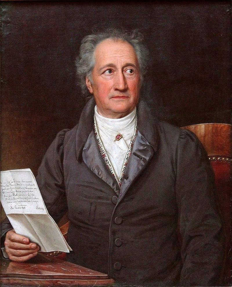 28 августа 1749 года родился Иоганн Вольфганг фон Гёте
