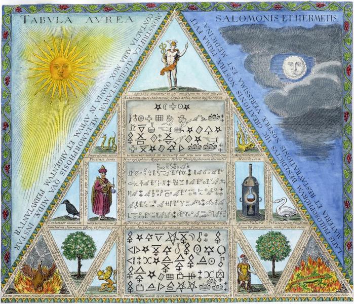 alhimiya spagiriya germetism magiya