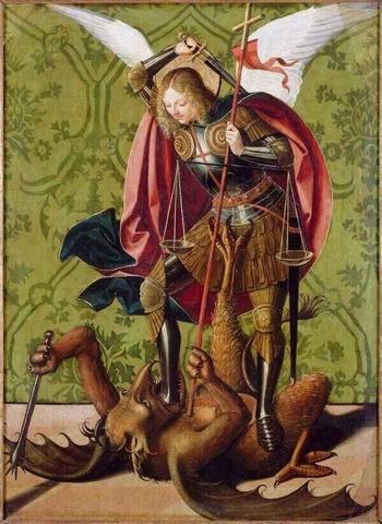 Архангел Михаил и дьявол