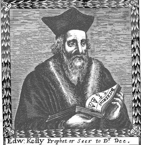 Эдвард Келли, портрет